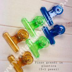 PINZE GRANDI 5+1 pz (plastica)