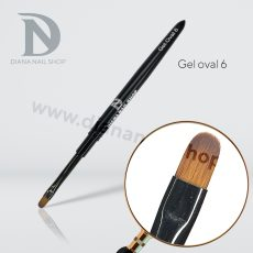 PENNELLO DIANA NAILS (gel oval 6)
