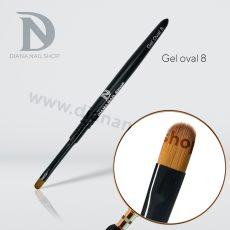 PENNELLO DIANA NAILS (gel oval 8)